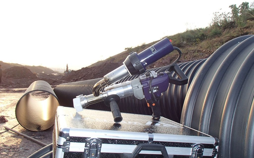 HDPE Extrusion Gun Hire in Perth | Acu-Tech Piping Systems